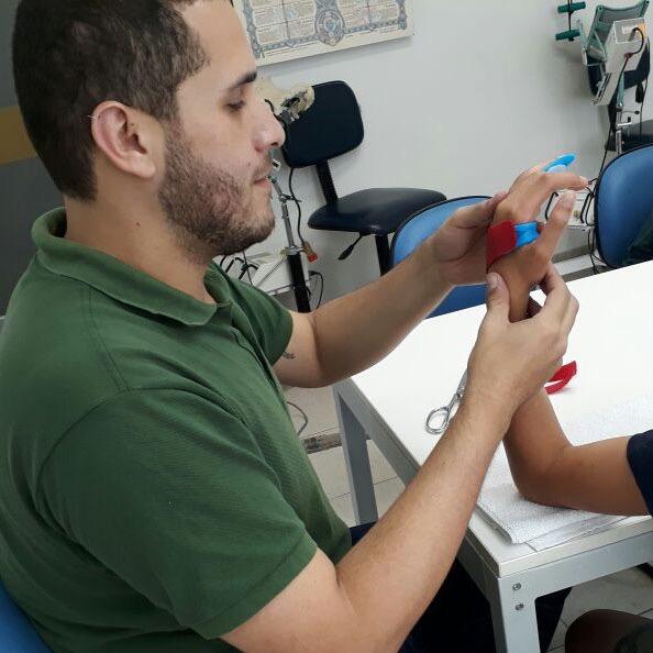 O terapeuta ocupacional Fernando Vicente Pontes